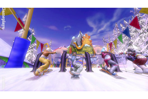 SSX Blur Wii Gameplay - YouTube