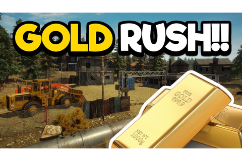 Gold Rush - Mining Simulator! Build a Gold Mine! - YouTube