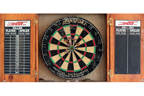 Best Dartboard Cabinets for 2018 | Get Games Go