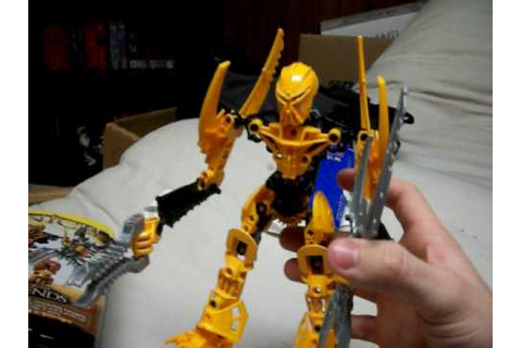 Bionicle: Mata Nui Toy Review - YouTube