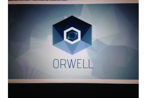 Orwell Game – Looking At The Trailer and What We Might See ...