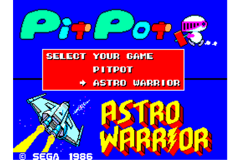 Astro Warrior & Pit Pot (Europe) ROM