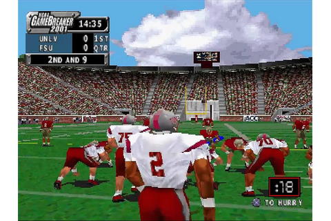 NCAA Gamebreaker 2001 Download Game | GameFabrique