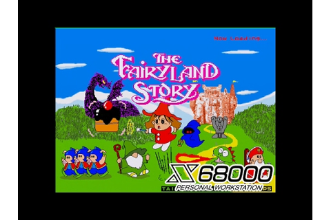 X68000 】 The Fairyland Story - YouTube