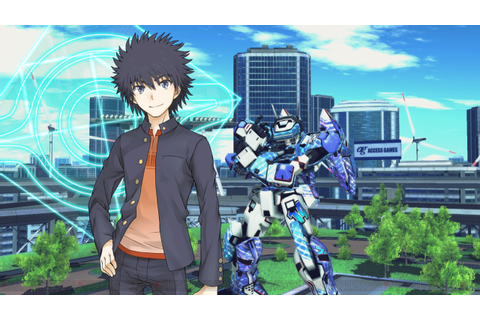 A Certain Magical Virtual-On introduces first characters ...