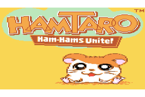Hamtaro Ham Ham's Unite-Cute game day - YouTube