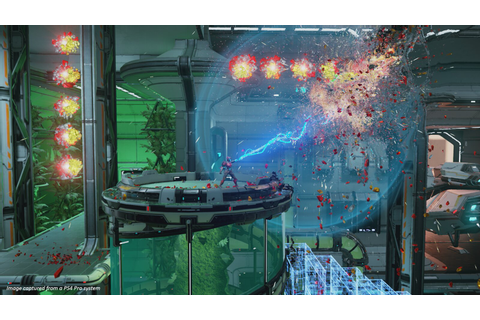 Housemarque's explosive PS4 twin-stick shooter Matterfall ...