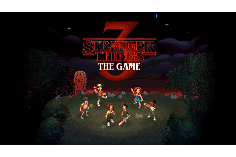 Stranger Things 3: The Game - Epic Games GIVEAWAY ...