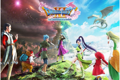 Dragon Quest XI : Les Combattants de la destinée on Qwant ...