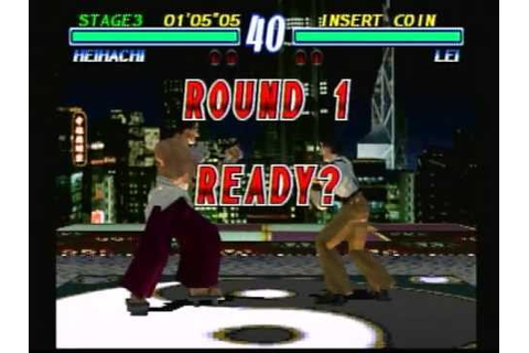 Tekken 2 (Playstation) Game Play - YouTube