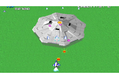 Game of the day 1583 Xevious 3D/G (ゼビウス 3D/G) Namco 1995 ...