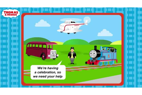 Thomas and Friends Celebration Game - Kids Games Online ...