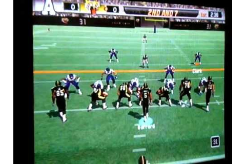 CFL Video Game: Argos vs Ticats - YouTube