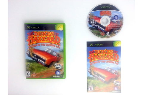 Dukes of Hazzard Return of the General Lee game for Xbox ...