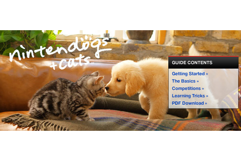 Nintendogs + Cats: Golden Retriever & New Friends - ds ...