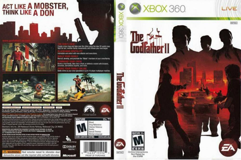 The Godfather II Cheat Codes for Xbox 360