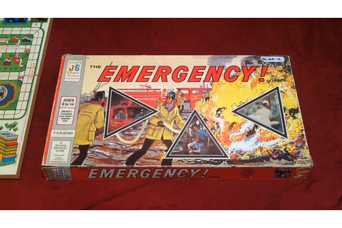 Board Game Vibe Episode #14: The Emergency! Game - YouTube