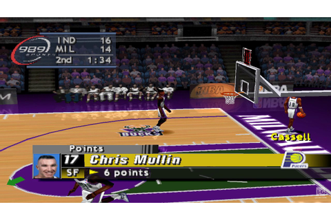 NBA ShootOut 2000 PS1 Gameplay HD - YouTube