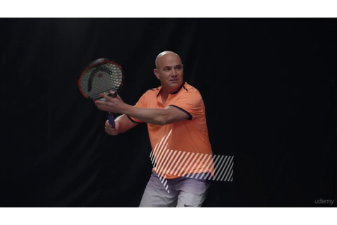 Learn Tennis from Champion Andre Agassi - YouTube