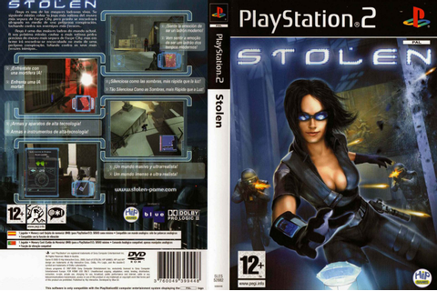 Games Covers: Stolen - Playstation 2