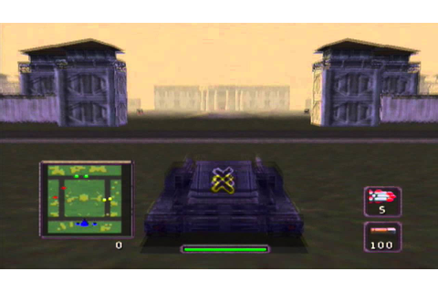 BattleTanx: Global Assault (N64) Tank Wars gameplay - YouTube