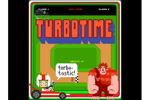 Turbotime- Wreck-It Ralph PC games- short gameplay - YouTube