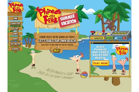 Summer Vacation Summerizer | Phineas and Ferb Wiki ...