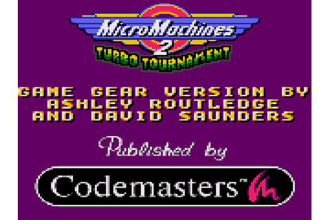 Micro Machines 2 - Turbo Tournament Download Game ...