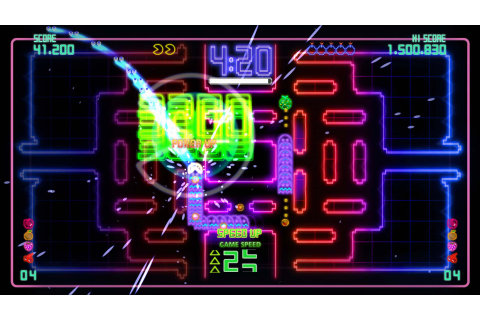 Pac-Man Championship Edition DX Xbox 360 review - DarkZero