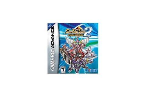 Super Robot Taisen: Original Generation 2 GameBoy Advance ...