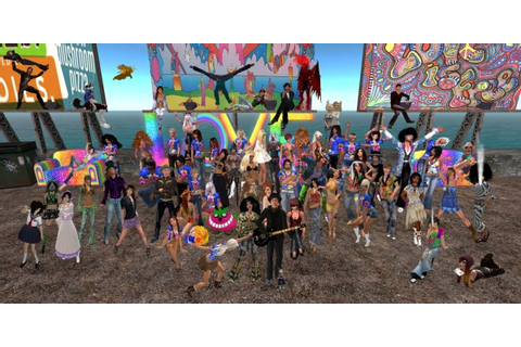 Games Like Second Life - Virtual Worlds for Teens