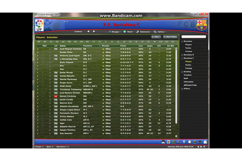 Football manager 2007 My Ajax - YouTube