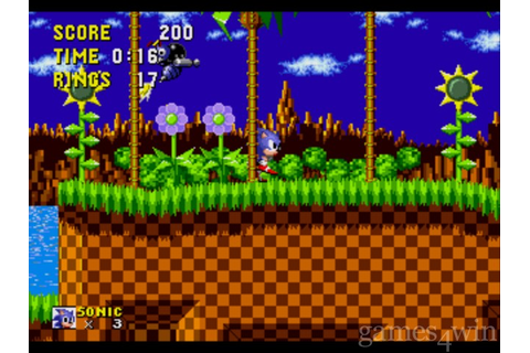 Sonic the Hedgehog. Download and Play Sonic the Hedgehog ...