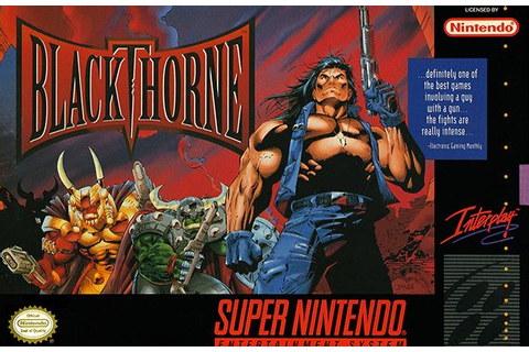 The Best Super Nintendo Games of All Time96. Blackthorne ...