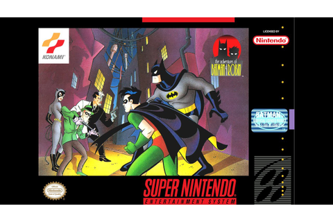 Which Super Nintendo Batman Games Are Worth Playing Today ...
