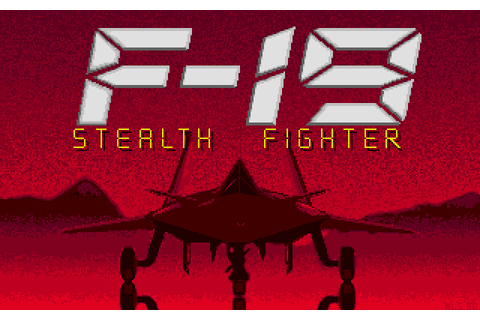 F-19 Stealth Fighter (1990) by MPS Labs Amiga game