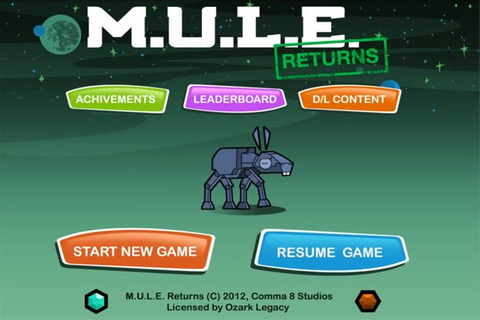 M.U.L.E. Returns Will Harvest Next Week for iOS – Game ...