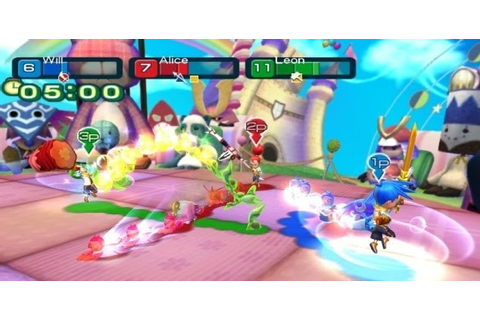 Line Attack Heroes game Info for Nintendo Wii