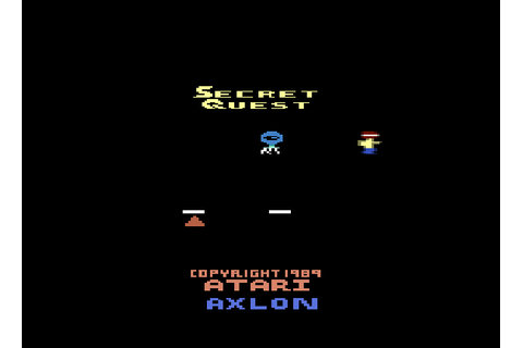 Secret Quest (A2600) Game - Atari 2600 - BoxartSecret ...