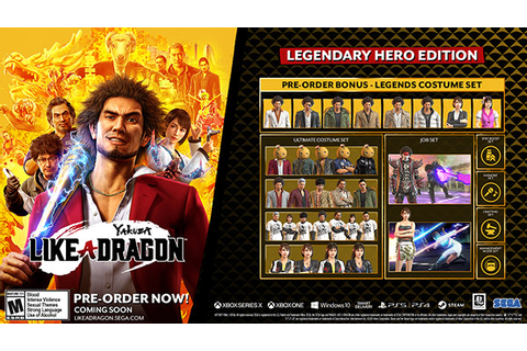 Yakuza: Like a Dragon adds PS5 version, launches for PS4 ...