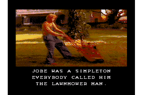 The Lawnmower Man Download Game | GameFabrique