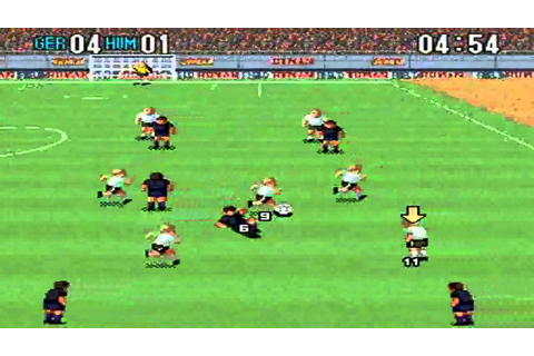 Super Formation Soccer 2 : Germany VS Human - YouTube