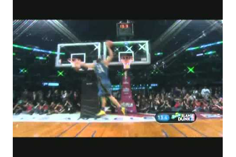 J MCGEE NBA ALLSTAR DUNK CONTEST 2011 DOUBLE DUNK - YouTube