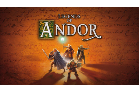 Legends of Andor Board Game by Michael Menzel - YouTube