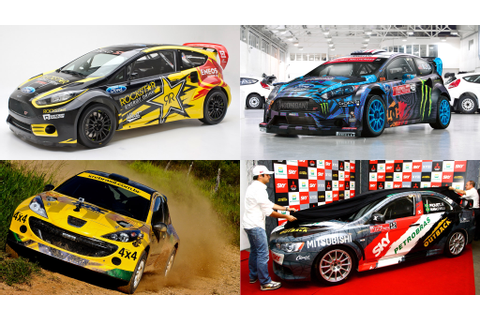 Early look at X Games Brazil RallyCross cars