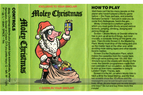 Moley Christmas – The Gremlin Graphics Archive