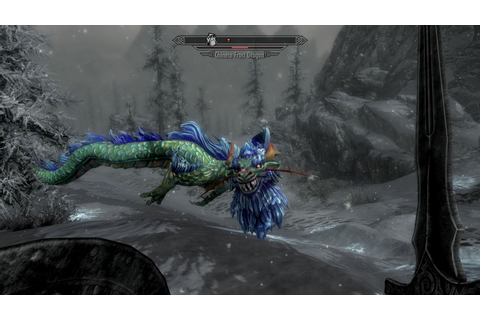 Dragon - Chinese Dragons mod for Elder Scrolls V: Skyrim ...