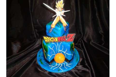 DragonBall Z Birthday Cake | Mr.&Mrs. Requenez | Pinterest ...