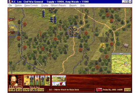 R.E.Lee: Civil War General Gameplay: The movie - YouTube