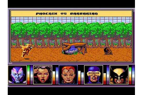 DOS Game: X-Men 2 - The Fall of the Mutants - YouTube